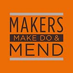 Makers make do and mend logo.